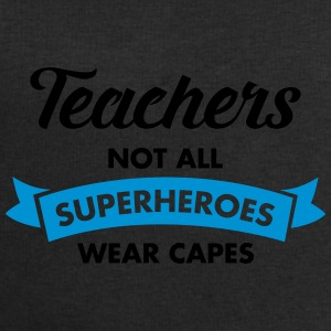 Teacher - Not All Superheroes Wear Capes Bouteilles et Tasses - Sweat-shirt Homme Stanley & Stella