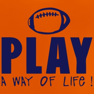 football americain rugby play way life quote Shirts - Baby T-Shirt