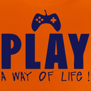 Joystick games play way life quote Shirts - Baby T-Shirt