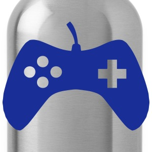 Joystick icon video games 7042 Shirts - Water Bottle