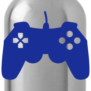 Joystick icon video games 704 T-Shirts - Water Bottle