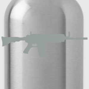 machine gun 704 T-Shirts - Water Bottle
