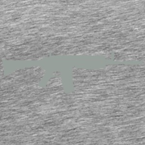 machine gun 704 Long Sleeve Shirts - Men's Premium T-Shirt