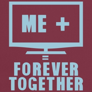 tv television forever together quote Tops - Cooking Apron
