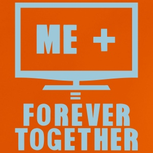 tv television tele forever together T-Shirts - Baby T-Shirt