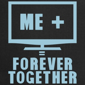 tv television forever together Camisetas - Delantal de cocina