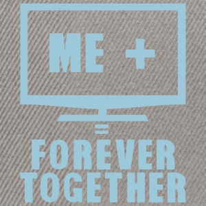 tv television forever together Camisetas - Gorra Snapback