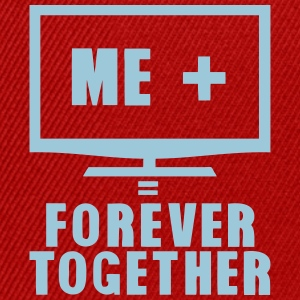 tv television forever together quote Shirts - Snapback Cap