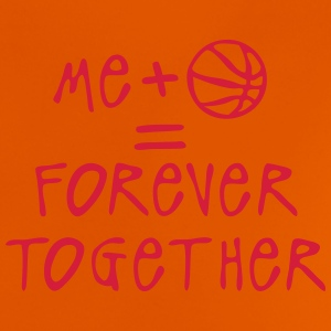 me plus basketball forever together ball Tee shirts - T-shirt Bébé