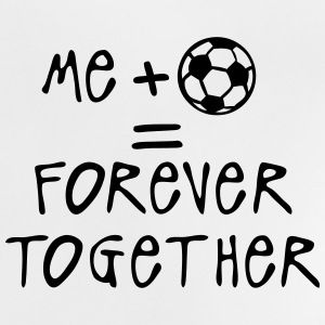 me plus football forever together ballon Tee shirts - T-shirt Bébé