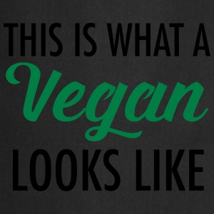 This Is What A Vegan Looks Like T-shirts - Forklæde