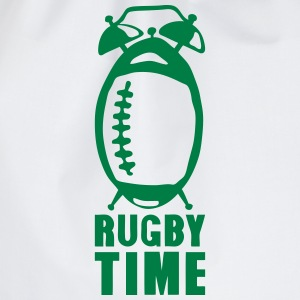 Rugby time alarm clock ringtone balloon T-Shirts - Drawstring Bag