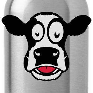 Cow drawing tongue 104 T-Shirts - Water Bottle