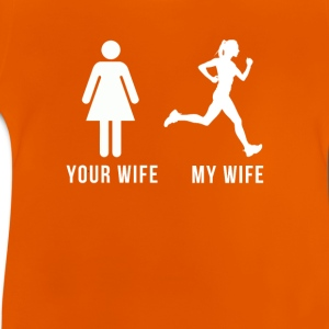 Your wife my wife-runner Shirts - Baby T-Shirt