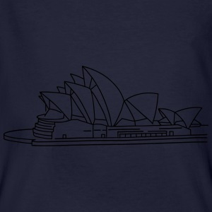 Opera House in Syndey Hoodies & Sweatshirts - Men's Organic T-shirt