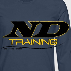 ND TRAINING Caps & Hats - Men's Premium Longsleeve Shirt