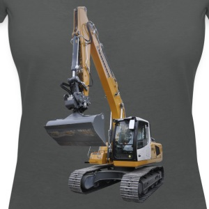 excavator Tops - Women's V-Neck T-Shirt
