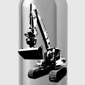 excavator T-Shirts - Water Bottle