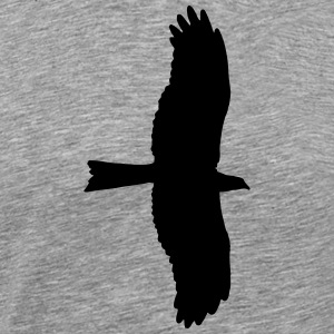eagle, bird of prey Sportsklær - Premium T-skjorte for menn
