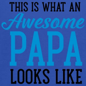 This Is What An Awesome Papa Looks Like T-paidat - Naisten tankkitoppi Bellalta