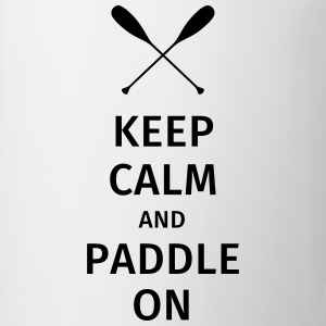 Keep Calm and Paddle on T-shirts - Mok