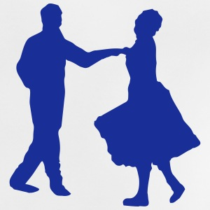 Dancers, dancing couple T-shirts - Baby-T-shirt