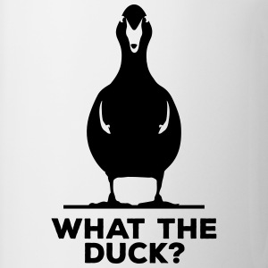 What The Duck? What The Fuck WTF Ente Entchen  T-Shirts - Tasse