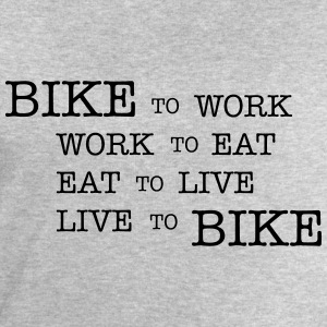 bike to work ... Tee shirts - Sweat-shirt Homme Stanley & Stella