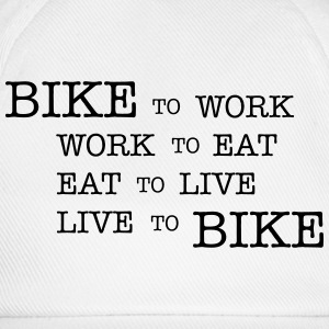 bike to work ... Tee shirts - Casquette classique