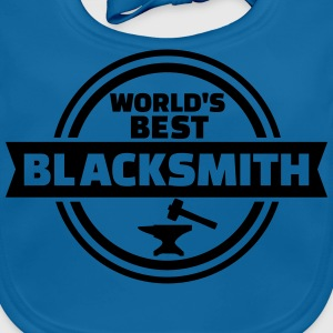 Best Blacksmith T-Shirts - Baby Bio-Lätzchen