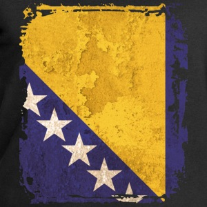 Bosnia and Herzegovina Art Flag - Men's Sweatshirt by Stanley & Stella