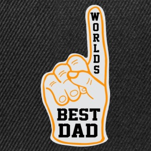 WORLD'S BEST DAD.. T-Shirts - Snapback Cap