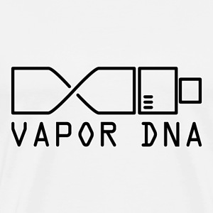 Vape Design Vapor DNA Hoodies & Sweatshirts - Men's Premium T-Shirt