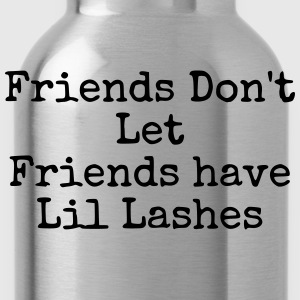 lil lashes T-Shirts - Trinkflasche