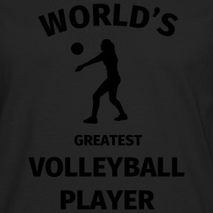 World's Greatest Volleyball Player Magliette - Maglietta Premium a manica lunga da uomo