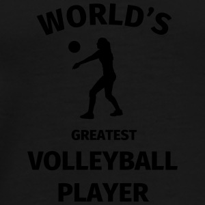 World's Greatest Volleyball Player Bouteilles et Tasses - T-shirt Premium Homme