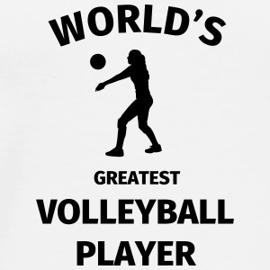 World's Greatest Volleyball Player Tazas y accesorios - Camiseta premium hombre