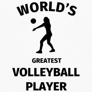 World's Greatest Volleyball Player Mokken & toebehoor - Mannen Premium shirt met lange mouwen