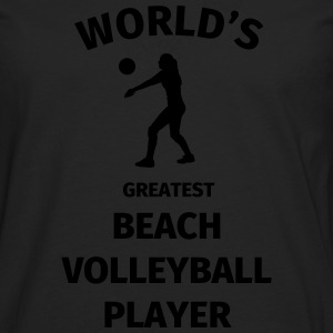 World's Greatest Beach Volleyball Player T-paidat - Miesten premium pitkähihainen t-paita