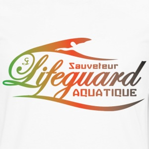 lifeguard multicolor Tee shirts - T-shirt manches longues Premium Homme