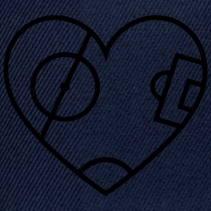 Pitch Heart T-Shirts - Snapback Cap