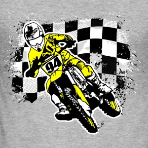 MotoCross Sweatshirts - Herre Slim Fit T-Shirt