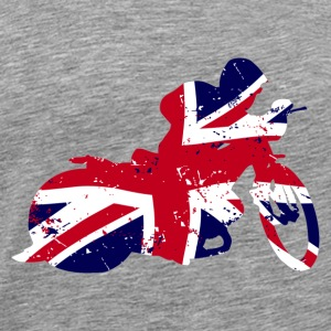Speedway - Union Jack Sports wear - Men's Premium T-Shirt