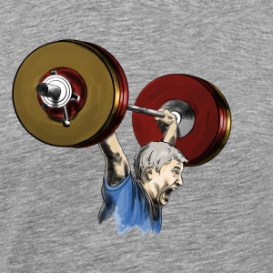 Weightlifting Sports wear - Men's Premium T-Shirt