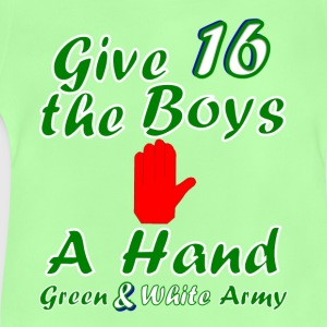Green and White Army 16 kid's t-shirt - Baby T-Shirt