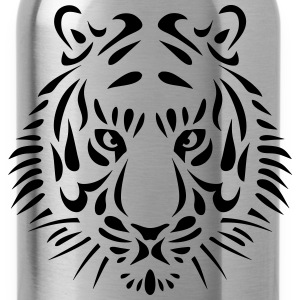 tiger design_104 Shirts - Water Bottle