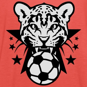 Football leopards tooth fierce Logo club Shirts - Women's Tank Top by Bella