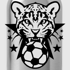 Football leopards tooth fierce Logo club Shirts - Water Bottle