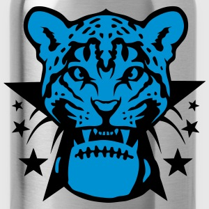American football rugby leopards tooth Shirts - Water Bottle