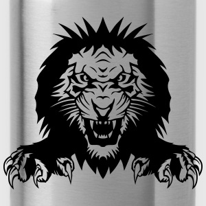Lion claw open mouth T-Shirts - Water Bottle